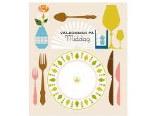 illustration från mormors mat välkommen på middag