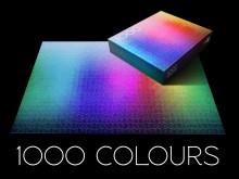 1000 Colours Puzzle