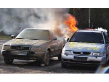 Brandbegränsning mellan fordon med Housegards AVD