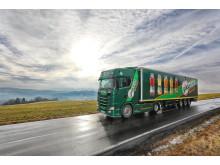 Scania S 580 V8_im Einsatz für das Familienunternehmen Güldenkron Fruchtsaft