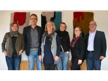 Linda Borglund, Martin Hellström, Annika Malm, Veronica Trépagny, Eva-Lotta Andersson och Majid Jaffari