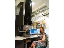 Nooshin Mortazavi and the Titan TEM Microscope