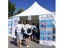 Solskolan var i Visby under Almedalsveckan 2012