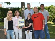 Takeda Azubis spenden 750€ an Werkstätte St. Pirmin in Singen
