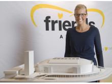 Sara Damber presenterar Friends Arena 2