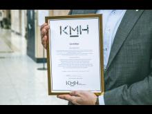 Certifikat till Kvarnbyskolan