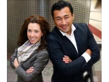 Sunbeam Lilja och Ivan Daza är grundare av Jobbfabriken som lanserar Handlingsplanen - spelet där vinnaren får jobb