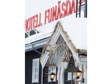 Entren till Hotell Funäsdalen