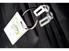 mySafety bagagebricka med unikt ID-nummer