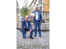 Jon Michelet og Dag Solstad