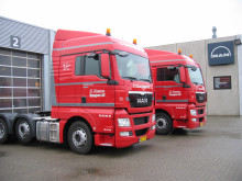 De 4 nye trækkere til K. Hansen i Esbjerg afspejler på bedste vis firmaets satsning på både totaløkonomi og tilfredshed blandt medarbejderne.