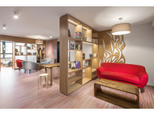 Comfort Hotel Prague City East _Library