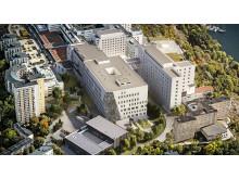 Södersjukhuset av LINK arkitektur