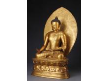 Kinesisk Buddha, Chien Lung, rekordklubbslag Lauritz.com