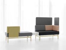 PoP sofa series, design Patrik Bengtsson & Pierre Sindre, Gärsnäs.