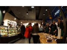 Starbucks Gränby Centrum, förberedelse