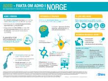 Fakta om ADHD i Norge