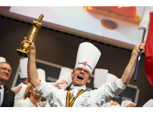 Kocken Thibaut Ruggeri, vinnare av Bocuse d'Or 2013
