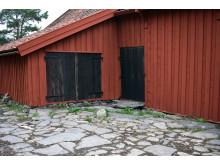 Kvibergsnäs Landeri - gårdsplanens stenläggning