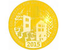 Medalj Nordbygg 2015