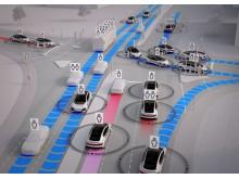 Fremtidens mobilitet hvor selvkørende biler kan være med til at løse de trafikale udfordringer