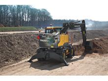 Volvo EWR150E grävmaskin - Steg IV-motor