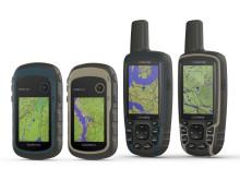 eTrex 22x/32x og GPSMAP 64x/64sx