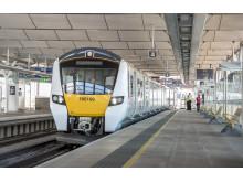 New Thameslink train at Blackfriars