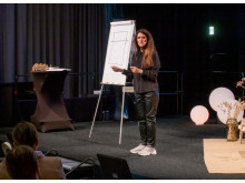 Elizabeth Kuylenstierna föreläste under Nolia Ledarskap i Umeå.