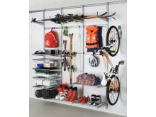 Elfa Utility, smart förvaring för garage och förråd