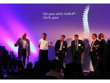 48 internationale Wirbelsäulenchirurgen besuchten das 2. Spine Academy Meeting bei ulrich medical in Ulm