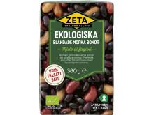 Produktbild Zeta ekologiska blandade mörka bönor