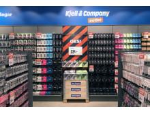 Fyndhyllor i Kjell & Companys outlet