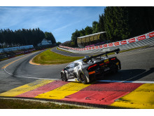 Super Trofeo in Spa Francorchamps with Motörhead Lamborghini