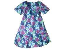 Blommig klänning blå/lila
