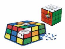 Gibsons Rubix Cube Jigsaw Puzzle