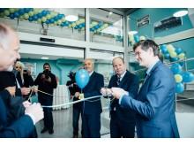 Invigningen av Kavats nya fabrik i Bosnien