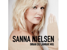 Sanna_Nielsen-innan_jag_lamnar_dig, Omslag