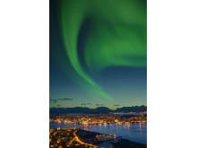 Nordlicht über Tromsø (1)
