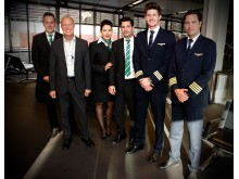 Germania Airline crew