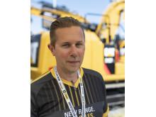 Fredrik Forsman, produktchef Pon Equipment