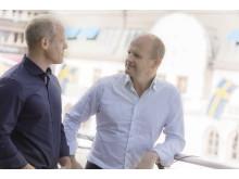 Henric Ehrenblad och Patrik Fagerlund