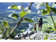 Vandring fra topp til topp i Hemsedal