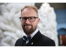 Jarle Strømodden (portrett), museumsleder Vigeland-museet / Museum Director Vigeland Museum