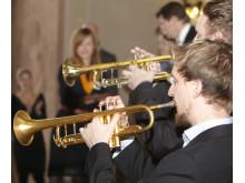 Uruppförande av Innovationsstipendiets egen trumpetfanfar