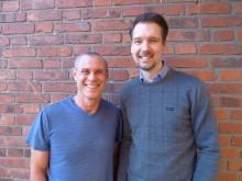 GIH:s nya professorer Abram Katz och Magnus Lindwall