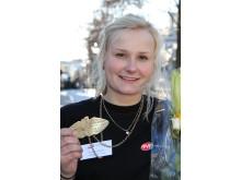 Anna tog historiskt SM-guld i plåtslageri