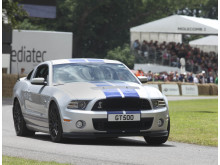 Ford Shelby GT500 laddar för fullt på Goodwood Festival of Speed