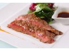 Steak with waifu sauce