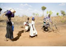 Uganda, Bidi Bid, Flygtninge